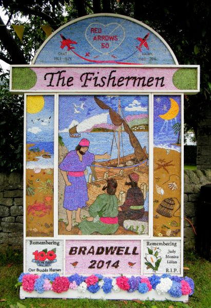Bradwell 2014 - Church End Well Dressing